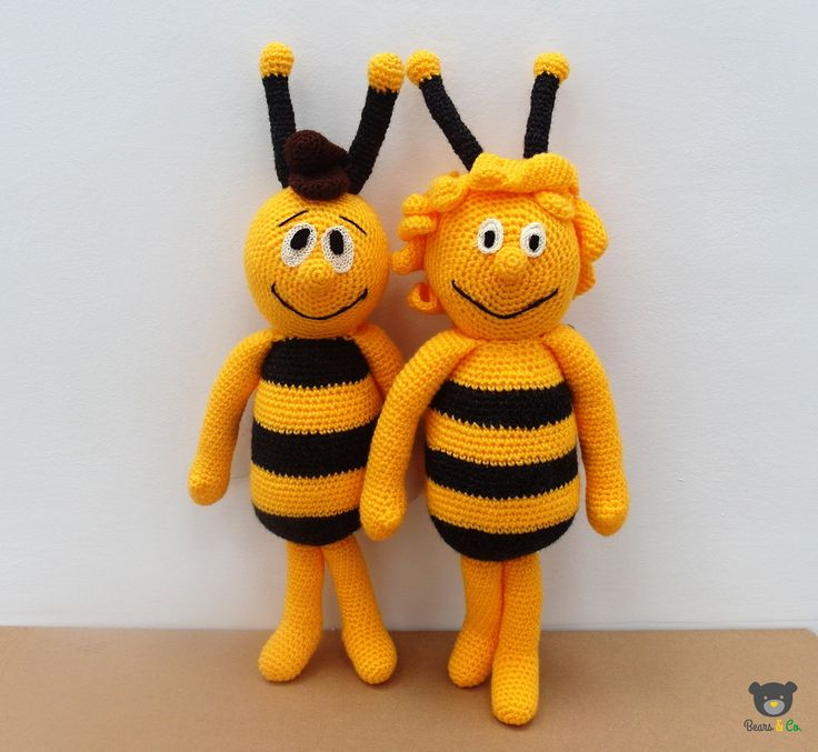 crochet toys Bee Maja