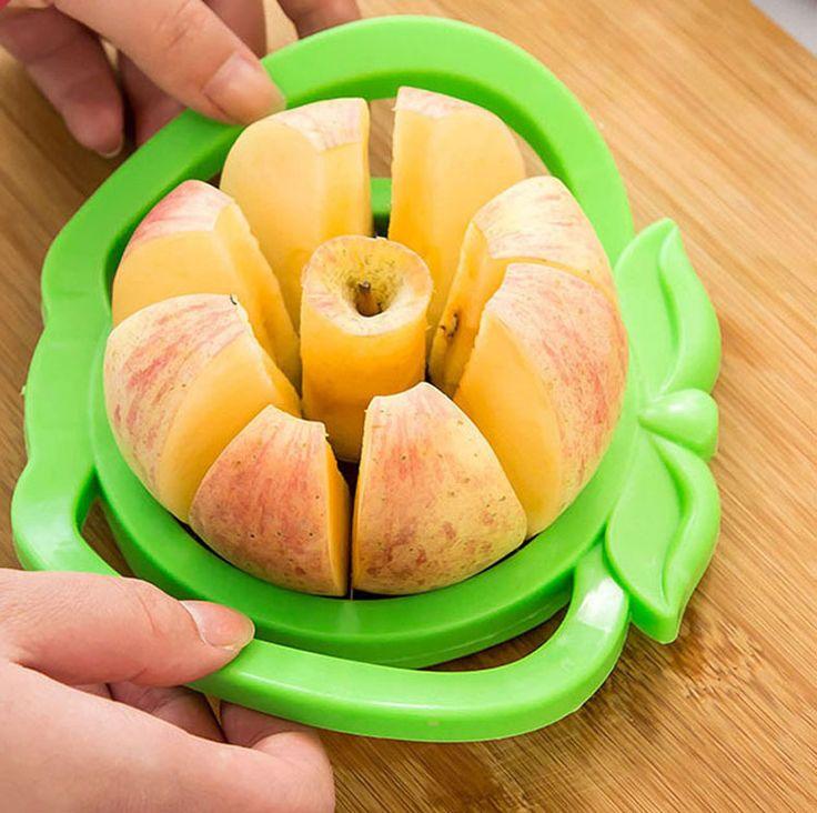 Corers maçã faca de frutas função da Apple triturador cortador de aço inoxidável cortador de frutas cortador de conveniência alishoppbrasil