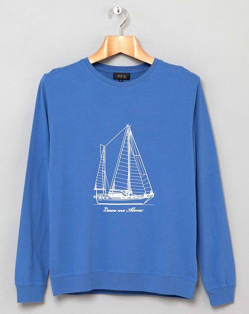A.P.C's Leave Me Alone Sweatshirt.