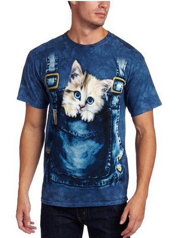 Kitty Overalls Shirt – Crazy Cat Lady Clothing
