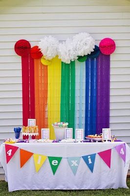 Decoración de Fiesta de Cumpleaños de My Little Pony