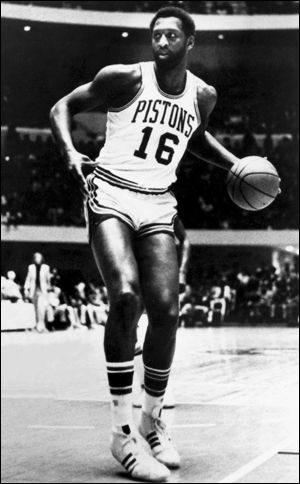 1970 NBA Draft...The top four, in order, went Bob Lanier (pictured), Rudy Tomjanovich, Pete Maravich and Dave Cowens -- that's three Hall of Famers and a five-time All-Star in Tomjanovich. Geoff Petrie (No. 8) shared Rookie of the Year honors with Cowens. Hall of Fame guards Calvin Murphy and Tiny Archibald were the first two picks of the second round.