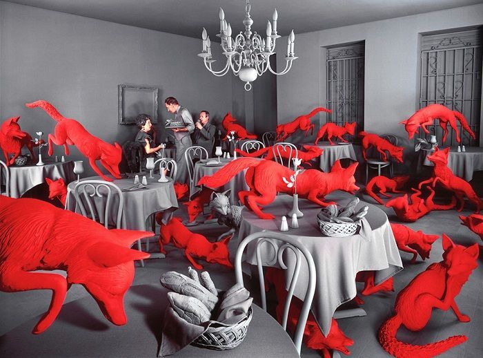 Amazing colorful photography by Sandy Skoglund