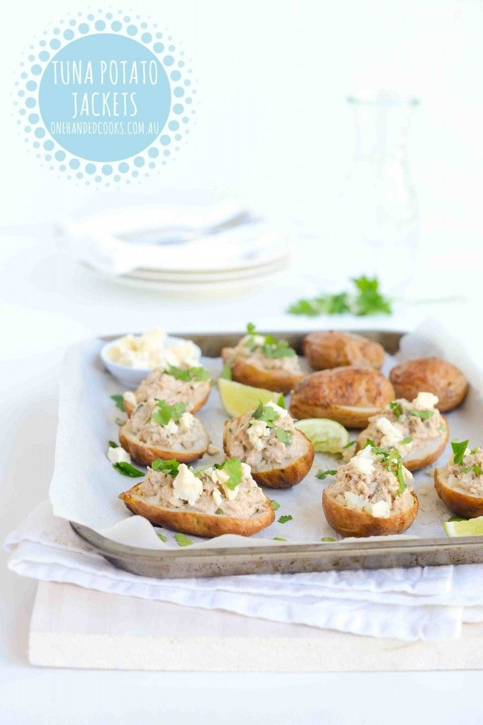 Budget Meals: Tuna potato jackets for kids The best cheap meals are the ones you…