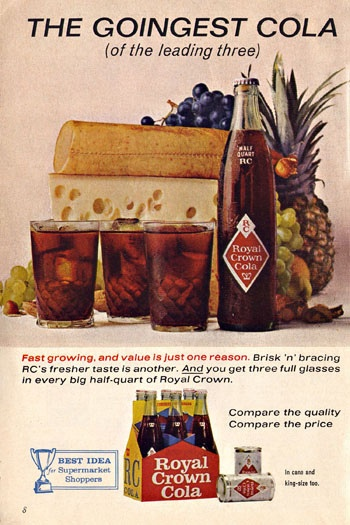 RC Cola Ad, 1962