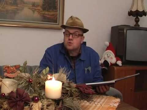 """Die Weihnachtsgeschichte - oder: """"Wie der Engel auf die Christbaumspitze..."""