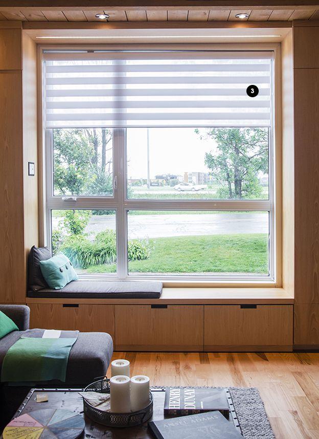 Un plancher idéal pour un salon idéal! Plancher de Hickory Naturel purificateur d'air #puregenius de Planchers Lauzon. #airpur #interiordesign #plancher #salon #loterieducoeur #maisonrouge #canalvie #puregenius #artfromnature