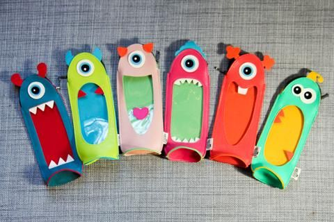Monsters Pencil Case - Oh, Hello Stationery Co.   - 1
