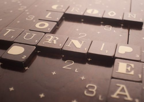 For Typography Enthusiasts, A Limited Edition Of Scrabble - DesignTAXI.com