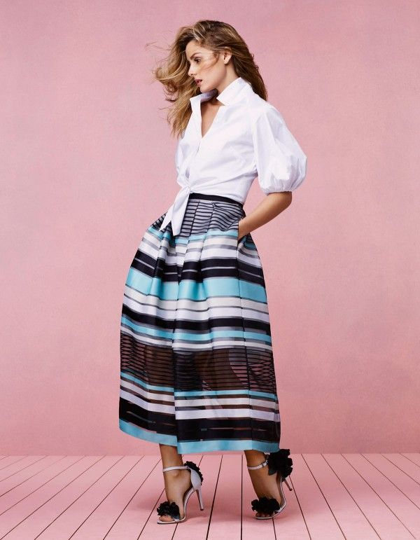 Olivia Palermo For Coast Stores SS17 Campaign