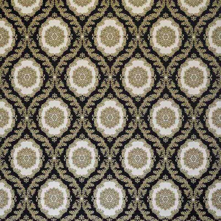 Warwick Fabrics : CONSTANTINA, Colour RAVEN