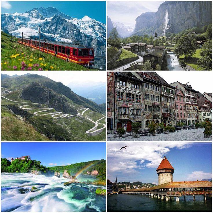 Švýcarsko  Představujeme vám pět míst, která při návštěvě Švýcarska musíte vidět.  1.První z nich je oblast Jungfrau. Je totiž skvělým místem pro pěší turistiku.  2. Průsmyk Passo dello Stelvio je skoro padesát zatáček, které vás dovedou do 2756 metrů nad moře. I v létě se tam pohybuje teplota kolem nuly se zbytky sněhu. Proto nezapomeňte na teplé oblečení! 3. Středověké městečko Stein am Rhein je jako z pohádky. Nepřeháníme. Úchvatné náměstí je tvořené domy s barevnými freskami.  4…