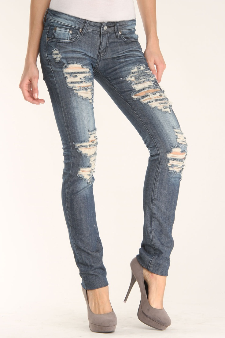 11 best Skinny jeans!! images on Pinterest | Ripped skinny jeans ...