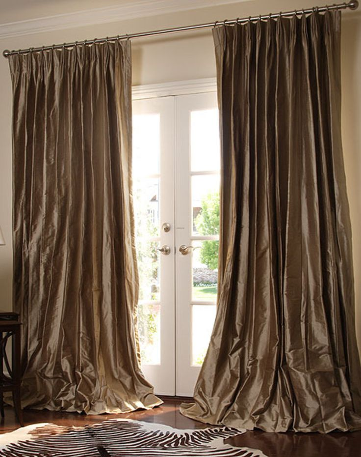 China Silk Pinch French Pleated Drapery Find Details About Curtains From