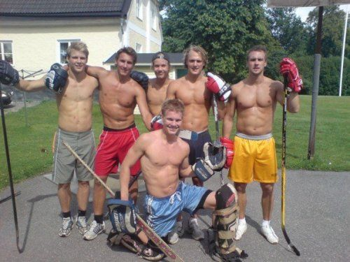 Carl Hagelin and his friends. Sweden in the summer must be a lovely place.: Rangers Hockey, Swedish Meatball, Ny Rangers ️, Hockey Boys, Brother Bobbie, Life Ice Hockey, Shorts, Hockey Life