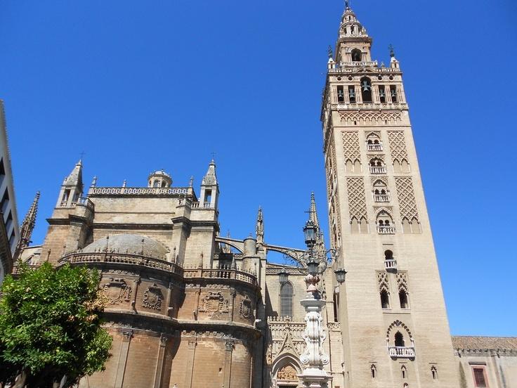 #Giralda di #Siviglia