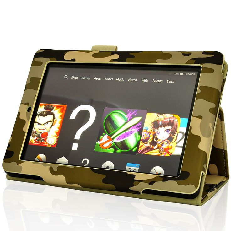 Fire HD 7 (2014 Edition) Case,Lightthebo Classic Slim Fit Folio Leather Case for Amazon Kindle Fire HD 7 Inch 2014 Tablet (With Auto Wake/Sleep Feature) (Digital Camo) $17.99 http://www.amazon.com/gp/product/B00SMJF96Q/ref=olp_product_details?ie=UTF8&me=
