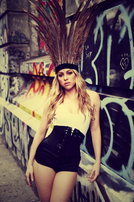 shakira, ever since I was little I thought she was The most beautiful woman I had ever seen.  Still do.