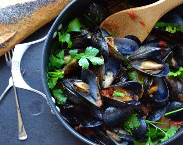 Mussels Marinara or Fra Diavolo