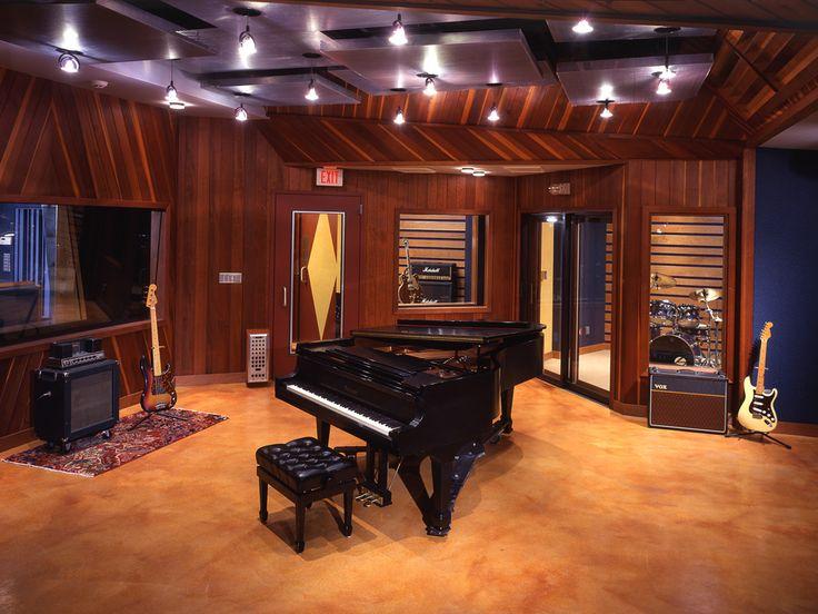 Charming Blue Jay Studios FM Design Recording Studio Portfolio