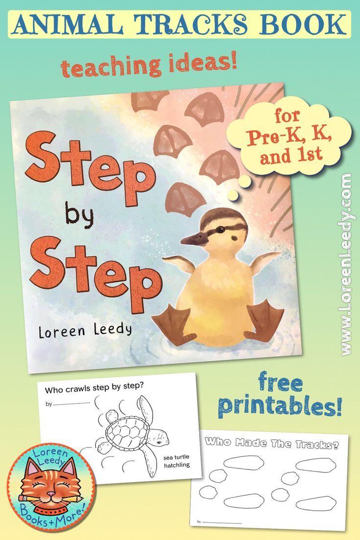 Making Animal Tracks Step By Step Loreen Leedy Books More Animal Tracks Kids Nonfiction Preschool Books [ 1103 x 736 Pixel ]