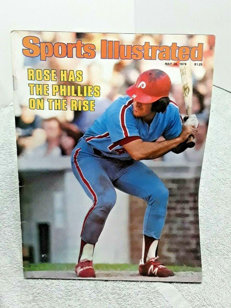 Sports Illustrated May 28 1979 Pete Rose Philadelphia