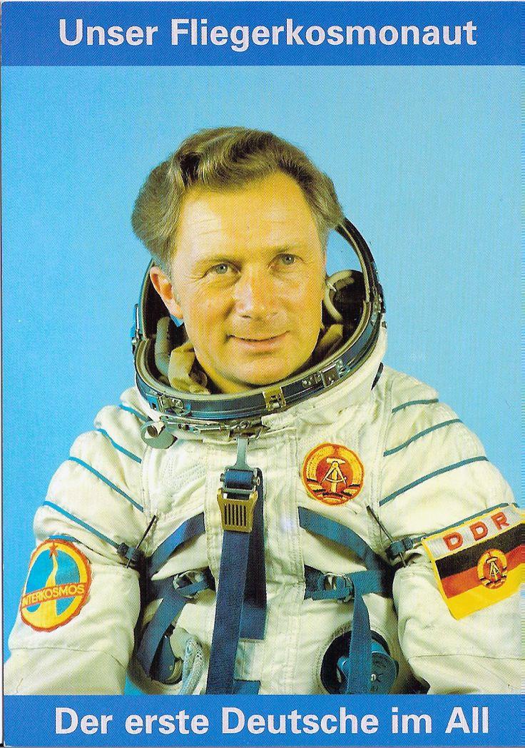 Unser Fliegerkosmonaut Sigmund Jähn ~~ Der erste Deutsche im All ---- #GDR astronaut Siegmund Jaehn