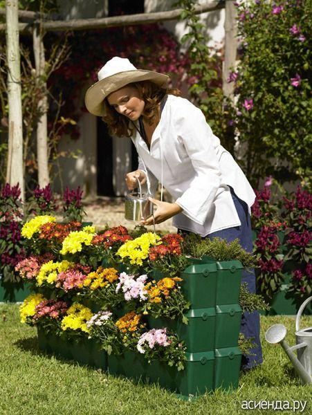 Огород в контейнерах - контейнерное садоводство, растения в контейнерах