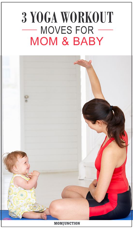 3 Yoga Workout Moves For Mom And Baby: Are you looking for a post-pregnancy activity that would help you connect with your toddler as well as other moms? Read on to know more about #yoga for mom and baby.