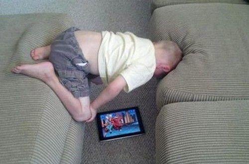 Poze funny. Copiii pot fi foarte ciudati uneori