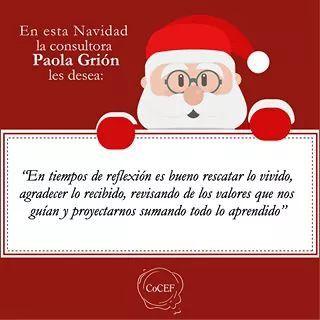 Saludo de Navidad de Paola Grion