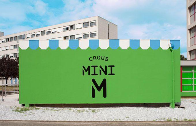 MINI M_Tolosa, Francia: il container trasformato in mercato | Project by Matali Crasset