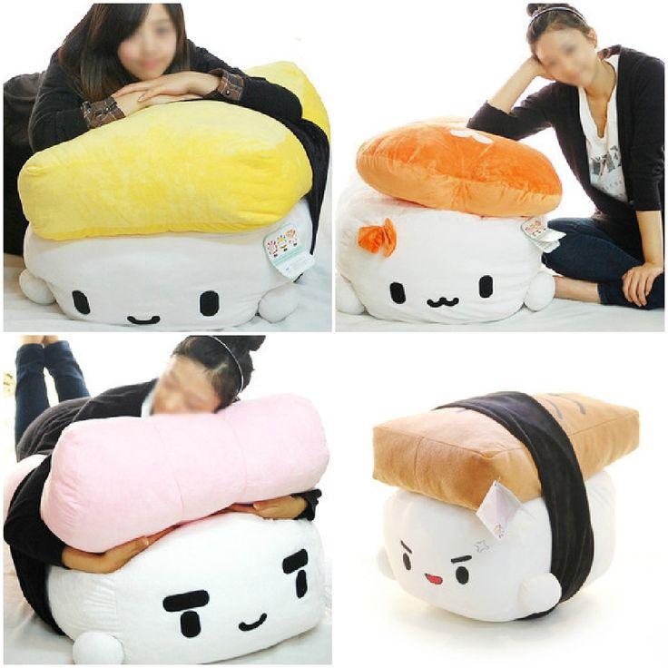 Cutees Sushi Plush Pillow Cushion *________*