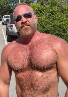Hot sexy mature bear safe answer