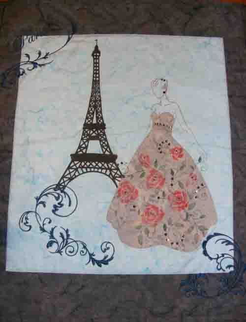 amy millsaps paris quilt   I know a little girl that would love this!