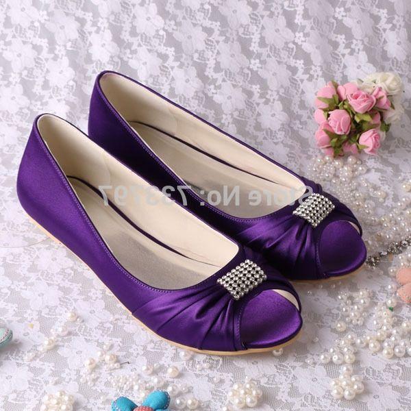 37.84$  Buy here - https://alitems.com/g/1e8d114494b01f4c715516525dc3e8/?i=5&ulp=https%3A%2F%2Fwww.aliexpress.com%2Fitem%2F12-Colors-Wholesale-Retail-Classic-Design-Purple-Open-Toe-Flat-Satin-Shoes-Women-s-Wedding%2F1618666115.html - (20 Colors) Wholesale & Retail Classic Purple Open Toe Flat Satin Shoes Women's Wedding Flats 37.84$