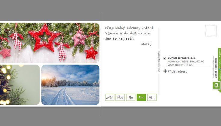 Připravte si vlastní pohlednici s vánočním přáním. Zvládnete to ze svého počítače | Milujeme fotografii – vše o digitální fotografii