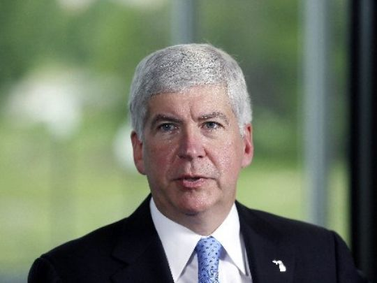 One resident of Flint, Michigan—a city still grappling with a lead-contamination crisis—is asking a grand jury to look into whether Gov. Rick Snyder illegally used $2 million in taxpayer money for his legal fees related to the disaster.