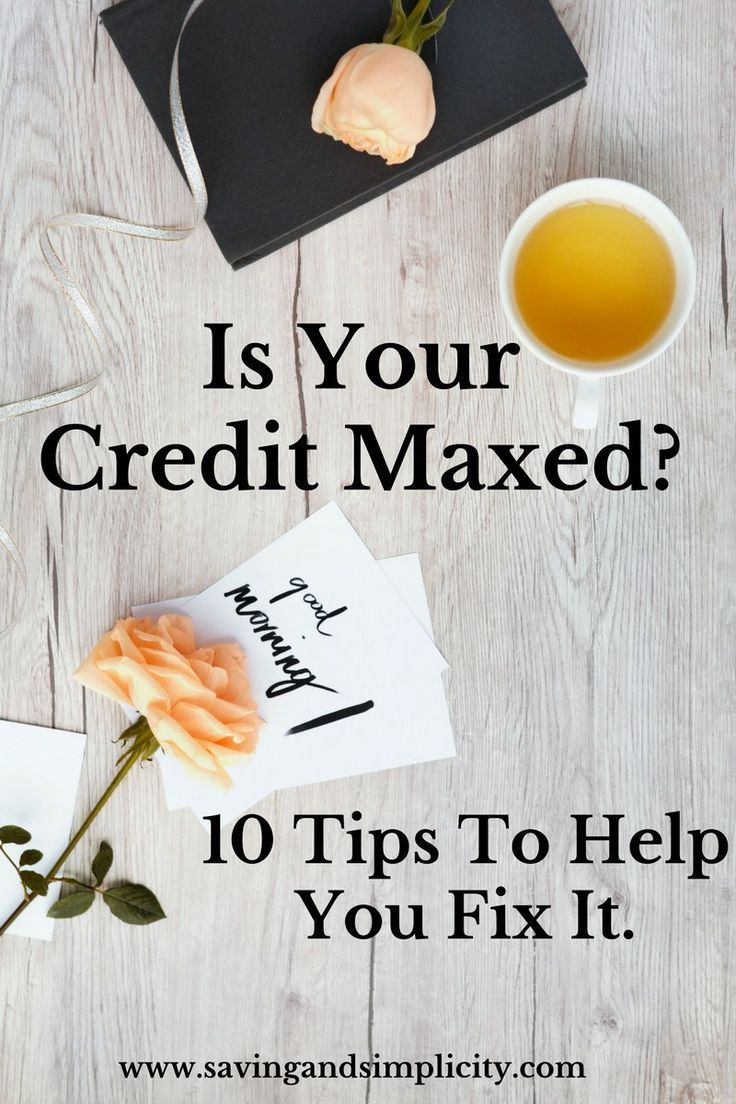 Is your credit maxed? Have you stood in the checkout line hoping your purchase will go through? 10 tips to help you stress less and save more.