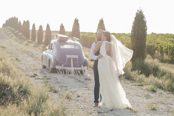 Свадебная фотосессия в «русской» Тоскане — долине Лефкадия