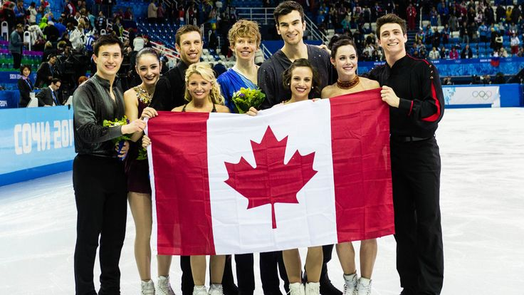 Patrick Chan, Meagan Duhamel, Scott Moir, Kirsten Moore-Towers, Dylan Moscovitch, Kaetlyn Osmond Eric Radford, Kevin Reynolds, Tessa Virtue Silver in Team Figure Skating