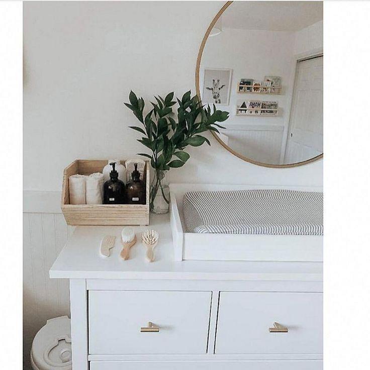 Pépinière neutre moderne pleine de plantes 37 ~ Design et décoration   – Nursery inspiration