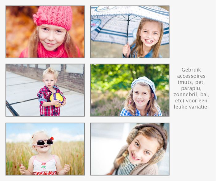 12 tips om te variëren bij (kinder)portretten