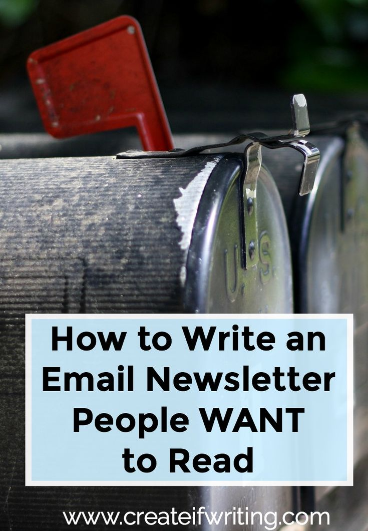 Email is vitally important...yet it can sometimes be that area where we struggle, especially with content and engagement. Learn how to write an email newsletter that people WANT to read.