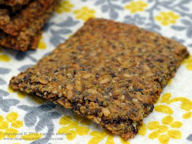 Definitely going to try this with the Flaxseed Meal I picked up today!  Chia Flax Crackers Image