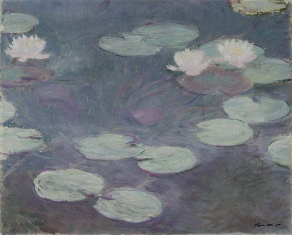 Claude Monet - Ninfee rosa