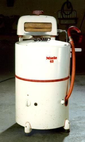 wasmachine, die hadden wij vroeger ook!