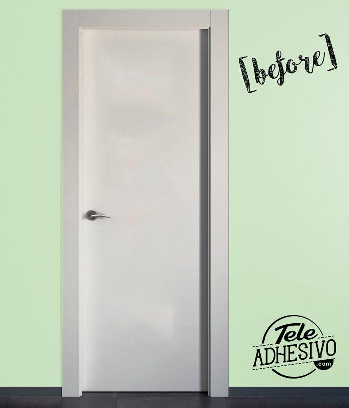 17 best images about vinilos decorativos para puertas on pinterest toilets montana and cartoon - Fotomural para puertas ...