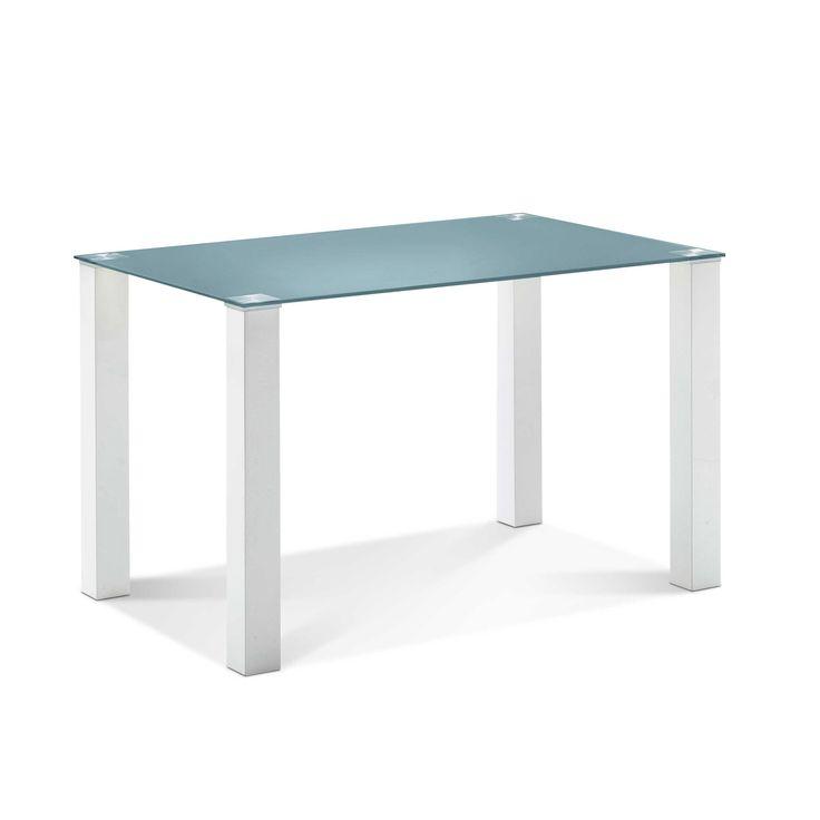 esstisch cintano 120 x 80 cm blau glas jetzt bestellen unter http - Kuchentisch Rund 80 Cm
