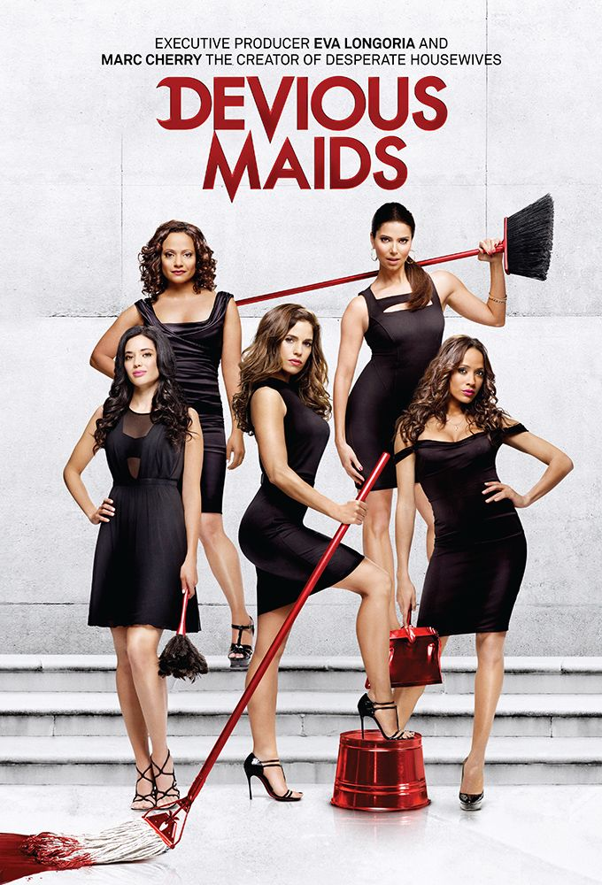 'Devious Maids' will air a second season on Lifetime. YAY ! Love this show.